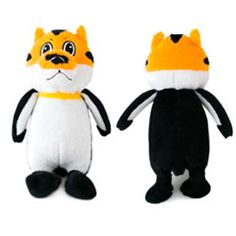 Fetch Pet Products - Topsy Turvies Tiger/Penguin. Topsy Turvies are the head-turning toy that your dog will flip for! These wacky combinations create two hilarious little buddies in one that are sure to be instant favorites. If you're already smiling, imagine how much your dog will love it!