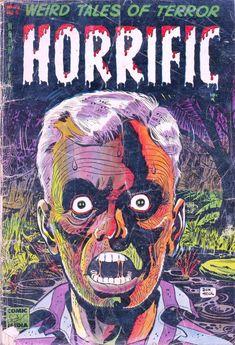 Comic Book Cover For Horrific #5