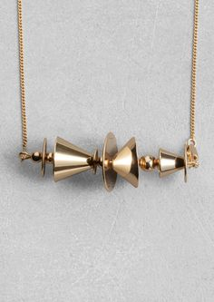& Other Stories   Geometric Necklace.