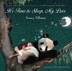 It's Time to Sleep, My Love by Nancy Tillman http://www.amazon.com/dp/0312673361/ref=cm_sw_r_pi_dp_qayuvb0793QXE