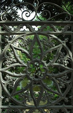 Iron gate - Savannah, GA....gateway to eternal sunshine...