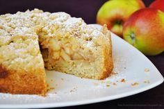Küchenzaubereien: Einfacher Apfel-Streuselkuchen (mit Rührteigboden)