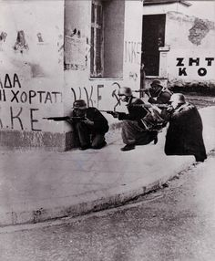 Germans fighting during the Greek Civil War Greek History, In Ancient Times, Yesterday And Today, Athens Greece, Cold War, Crete, Military History, Once Upon A Time, World War Ii