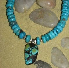 Turquoise and Sterling..115.00 aprilpiland@gmail.com