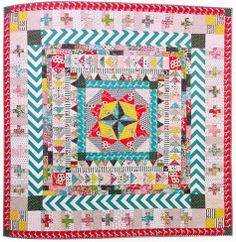 Marcelle Medallion Quilt - Liberty Love