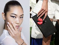 As unhas da New York Fashion Week Verão 2015 estavam sóbrias e sofisticadas. Veja as fotos!