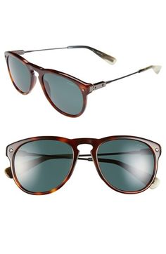 Lanvin 'Modified Aviator' 53mm Polarized Sunglasses available at #Nordstrom