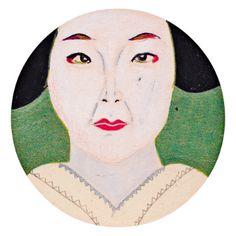 Geisha, japan. Illustration made by Grietje Drooglever  www.fotootjevandaag.wordpress.com