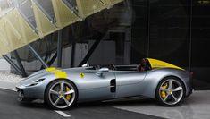 design meets state-of-the-art technology in Ferrari's Monza & Sports Cars. Drawing inspiration from classic Ferrari racing barchettas such as the 1948 Gt R, Lamborghini, Bugatti, New Sports Cars, Super Sport Cars, Instagram Png, Audi, Car Racer, Mc Laren