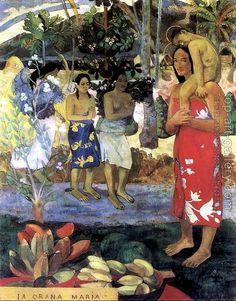 Paul Gauguin : La Orana Maria