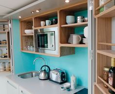 The Hivehaus Grand Kitchenette by Culshaw Kitchens Lancashire UK