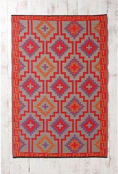 southwestern geometric rug