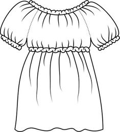 Adult size Peasant Blouse Tutorial using own measurements to draft the pattern.