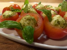 Tomate-Mozzarella mal anders, ein schönes Rezept aus der Kategorie Sommer. Bewertungen: 27. Durchschnitt: Ø 4,5.
