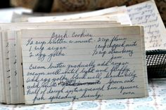 A classic vintage recipe from the files - Czech Cookies