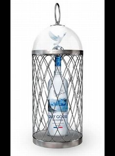 This Vodka will remind you Grey Goose but put in a silver cage. It's up to you whether you like it to have with or without the silver cage; it will cost you less just a bottle Vodka. It's also popular among Grey Goose Vodka lovers. Expensive Vodka, Most Expensive, Vodka Drinks, Alcoholic Drinks, Drink Bottles, Vodka Bottle, French Vodka, Premium Vodka, Ideas