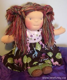 Sewfunky Waldorf Doll