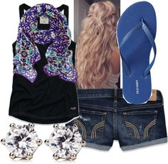 """Summer Cute!"" by lauren-griffin-1 on Polyvore"