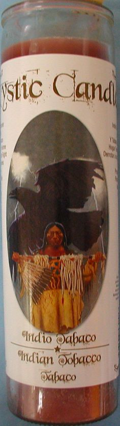 INDIAN TOBACCO PERFUMED CANDLE