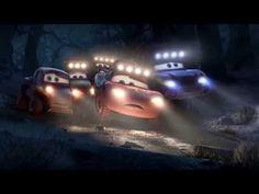 Disney Cars Mater and Lightning McQueen V-Tech Train Station Go Go Smart Wheels Review - YouTube