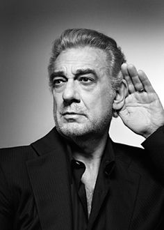 Placido Domingo Placido Domingo, Maybe Someday, Face Off, Black And White Portraits, My Passion, New Life, Persona, The Voice, Glamour