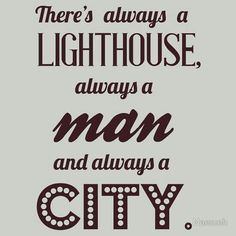 A LightHouse, A man and a city is all you need for Bioshock