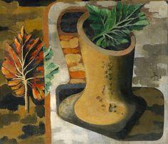 """igormaglica: """"Heinrich Hoerle, Das blätterbild / The leaves image, 1928. """""""