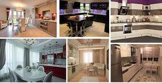35 Custom Kitchen Designs from Top Kitchen Designers Kitchen Tops, Kitchen Dining, Dining Room Design, Kitchen Designs, Corner Desk, Designers, Awesome, House, Furniture