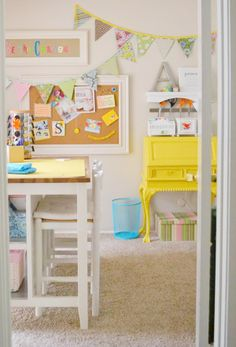 A Gorgeous Bright Sewing Studio