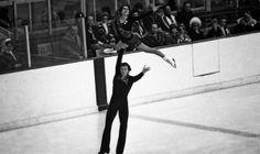 Ирина Роднина и Александр Зайцев на Олимпиаде-1976. Irina Rodnina and Alexander Zaitsev at the Olympics in 1976. In Austria, Irina became two-time Olympic champion.