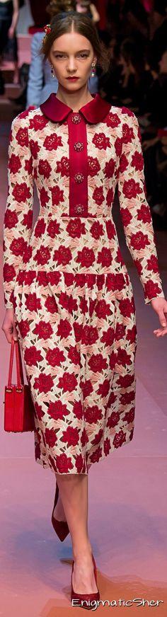 #Farbbberatung #Stilberatung #Farbenreich mit www.farben-reich.com Dolce & Gabbana Collections Fall Winter 2015-16