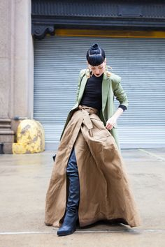 Make a statement - The Style Skinny Street Beat, Street Look, Street Chic, Street Fashion, Weird Fashion, Asian Fashion, We Wear, How To Wear, Ootd