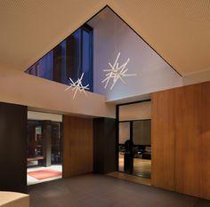 Vibia pendant light Rhythm 2130. Designed by Arik Levy - KODA Lighting, Sydney