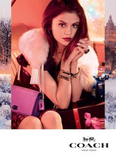 #Coach | Holiday 2017 Ad Campaign with #SelenaGomez