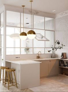 Our team has gathered some samples of chic kitchen ideas to show you some approa. - Nachrichten Finanzieren Our team has gathered some samples of chic kitchen ideas to show you some approa… – Rustic Kitchen, New Kitchen, Kitchen Ideas, Awesome Kitchen, Kitchen Modern, Semi Open Kitchen, Warm Kitchen, Brass Kitchen, Kitchen Contemporary