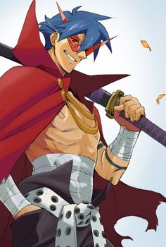 Gurren Lagann-This guy....One of my heroes
