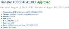 I am getting paid daily at ACX and here is proof of my latest withdrawal. This is not a scam and I love making money online with Ad Click Xpress. I WORK FROM HOME less than 10 minutes and I manage to cover INCOME. If you are a PASSIVE INCOME SEEKER, AdClickXpress is the best ONLINE OPPORTUNITY. https://www.facebook.com/AdclickXpress.the.Official… http://www.adclickxpress.com/?r=72488x3p6py2&p=mx