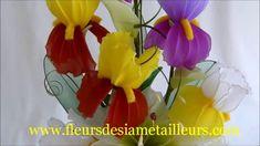 Fabrication d'un iris en collant / Nylon Iris