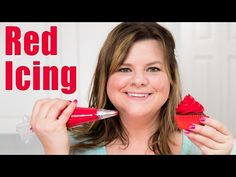 How to Make Red Icing & Red Buttercream for Cake Decorating: Tutorial from Jenn Johns on Cookies, Cupcakes, and Cardio