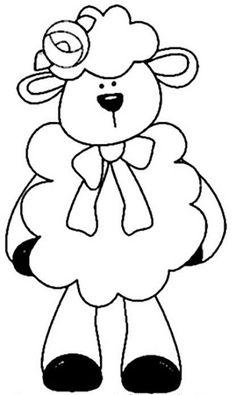 very cute lamb! Clipart Baby, Sheep Cards, Cute Lamb, Baby Clip Art, Iris Folding, Sheep And Lamb, Applique Patterns, Tole Painting, Bible Art