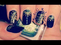 Arabesque Orientale Nail art - YouTube