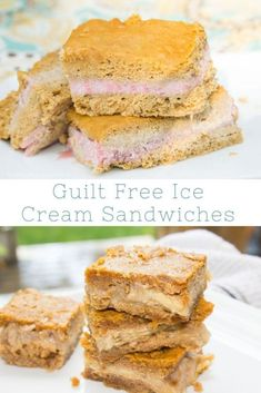 Guilt Free Ice Cream Sandwiches - ThirtySomethingSuperMom Indulge in a delicious treat without the worry, try these guilt free ice cream sandwiches. Great for gluten free and the Specific Carbohydrate Diet. Healthy Treats For Kids, Yummy Treats, Sweet Treats, Gluten Free Desserts, Easy Desserts, Sandwiches, Specific Carbohydrate Diet, Sandwich Ingredients, Banana Ice Cream