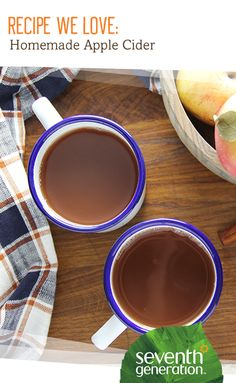 Loving everything about apple season like we are? Make fresh cider at home - no press required.