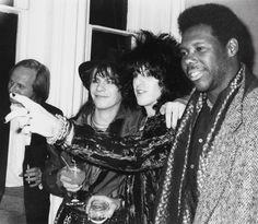 Throwback......1985 NYC. With Nile Rogers and Andy Taylor of Duran Duran. In the background is Chrysalis Records a&r Jeff Aldrich, who helped in witk on all the Billy Idol records. A great guy in our corner .