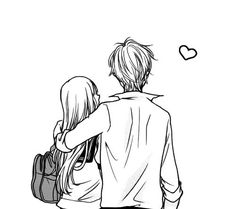 love, manga, and couple image
