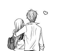 love, manga, and couple image