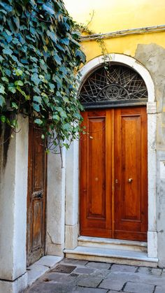 Wander the streets of Venice and enjoy the interesting doors, colors, bridges, and more in this beautiful Italian city.  #italy #venice #travel #localtravel #authentic