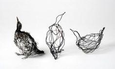 wire drawing, celia smith