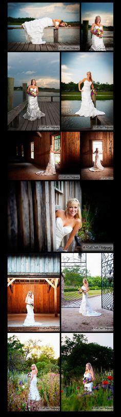Stephens Bridal Session * Boone Hall Plantation © Rick Dean Photography 2012