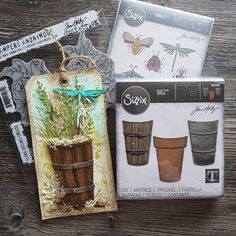 Stampers Anonymous, Chapter 3, Tim Holtz, Insects, Workshop, Tags, Christmas Ornaments, Holiday Decor, Paper